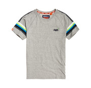 Superdry T-shirt Strepen Grijs (M10105ET - D3J)