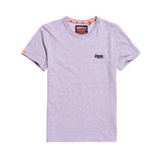 Superdry T-shirt Ronde Hals Paars (M10105MT - B3L)