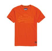 Superdry T-shirt Ronde Hals Logo Oranje (M10110AT - A7R)