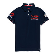 Superdry Polo Superstate Champion Navy (M11203EU - ADQ)