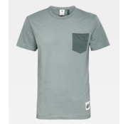G-star T-shirt Ronde Hals met Borstzakje Groen (D16426 - B255 - 4752)
