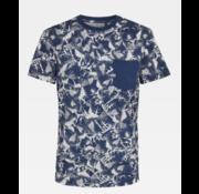 G-star T-shirt met Borstzakje Print Blauw (D16423 - C201 - B312)