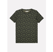 Dstrezzed T-shirt Print Ananas Army Groen (202512 - 524)