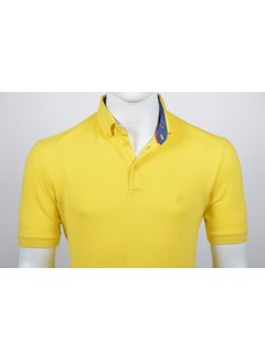 Culture Polo Uni Geel (215266 - 65)