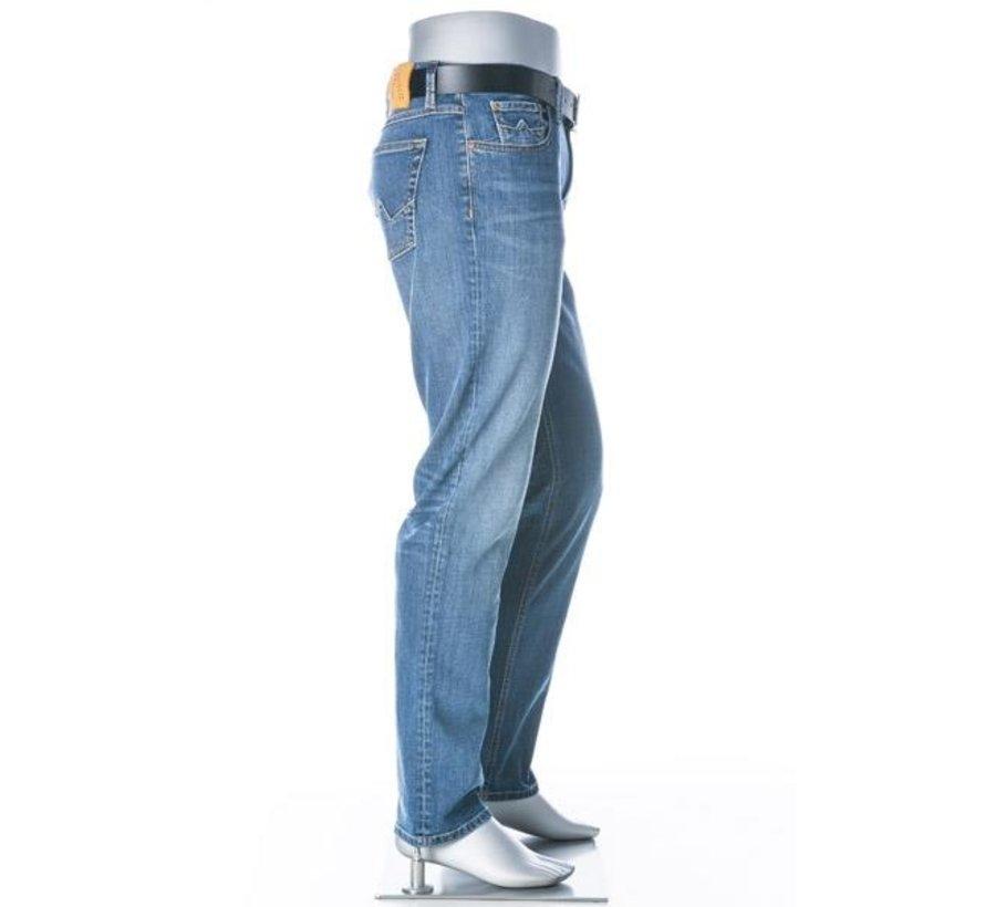 Jeans Pipe Regular Slim Fit T400 Light Wash (6837 1567 - 865)