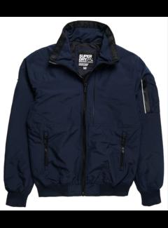 Superdry Softshell Jas Navy Blauw (M5010046A - JKE - Deep Navy)