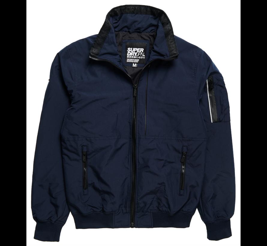 Superdry softshell jas blauw | wehkamp