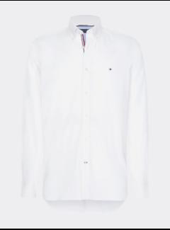 Tommy Hilfiger Overhemd Slim Fit Wit (MW0MW12751 - YBR)