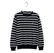 Gant Sweater Gestreept Navy/Wit (8000109 - 433)