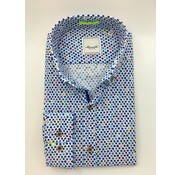 Marnelli Overhemd Button Down Tailored Fit Dots (SH002-5-316)