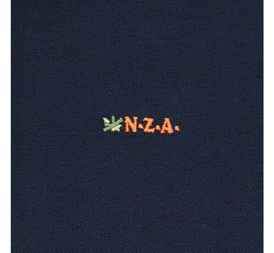 Polo Korte Mouw Waiapu Navy Blauw (20CN150 - 269)