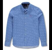 New Zealand Auckland Overhemd Manakau Blauw (20BN566 - 259)