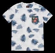 New Zealand Auckland T-shirt Ronde Hals Panguru Wit (20CN724 - 10)