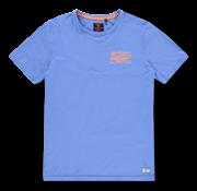 New Zealand Auckland T-shirt Ronde Hals Waiouru Blauw (20CN726 - 259)