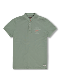 New Zealand Auckland T-shirt Ronde Hals Rangiora Army Groen (20CN733 - 494)