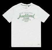 New Zealand Auckland T-shirt Ronde Hals Tarawera Wit (20CN721 - 10)