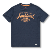 New Zealand Auckland T-shirt Ronde Hals Tarawera Navy Blauw (20CN721 - 269)