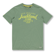 New Zealand Auckland T-shirt Ronde Hals Army Groen (20CN721 - 494)