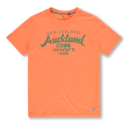New Zealand Auckland T-shirt Ronde Hals Oranje (20CN721 - 641)