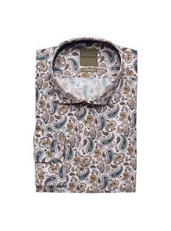 Benvenuto Overhemd Pembrake Washed Print Wit (68557-47576-1183)