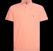 Tommy Hilfiger Polo Korte Mouw Oranje (MW0MW10764 - SN7)