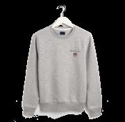 Gant Sweater Ronde Hals Grijs (2056002 - 94)