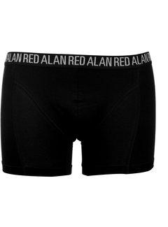 Alan Red Boxershort 3pack Zwart (7007)