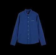 Scotch & Soda Overhemd Regular Fit Print Blauw (155168 - 0217)