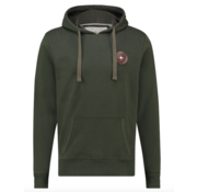 Haze&Finn Hooded Sweater Army Groen (MA13 - 0426 - Army Green)