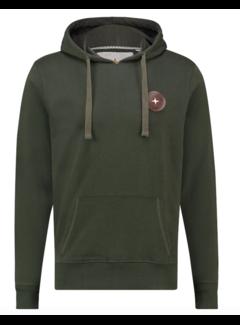 Haze&Finn Hooded Sweater Army Groen (MA13 - 0426 - Army Green)