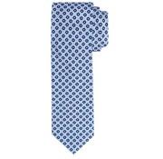 Profuomo Stropdas Classic Flower Silk Tie Blauw (PP5AA0003D)