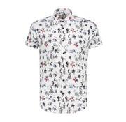 Dstrezzed Overhemd Korte Mouwen Hawaii Wit (311138 - 100)