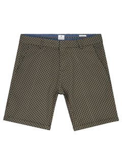 Dstrezzed Chino Short Print Army Groen (515078 - 511)