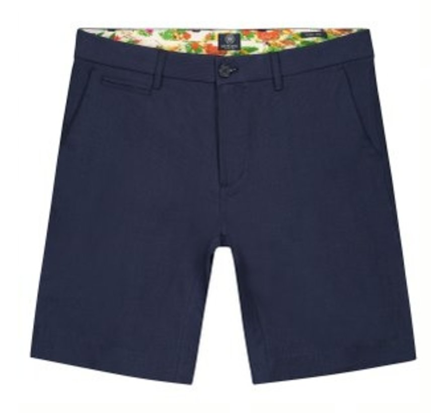 Chino Short Loose Fit Tictac Navy (515168 - 649)