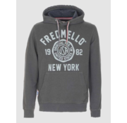 Fred Mello Hooded Sweater Logo Army Green (FM19W04FC - 868)