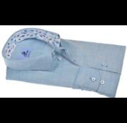 Culture Overhemd Modern Fit Lichtblauw Gemeleerd (215006 - 32)