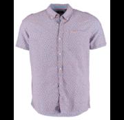 New Zealand Auckland Overhemd Korte Mouw Magellan Blauw (20CN572S - 259)