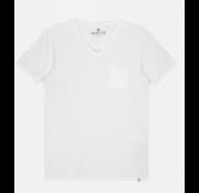 Dstrezzed T-shirt V-Hals Wit (202502 - 100)