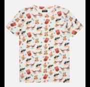 Dstrezzed T-shirt Ronde Hals Wit (202513 - 100)