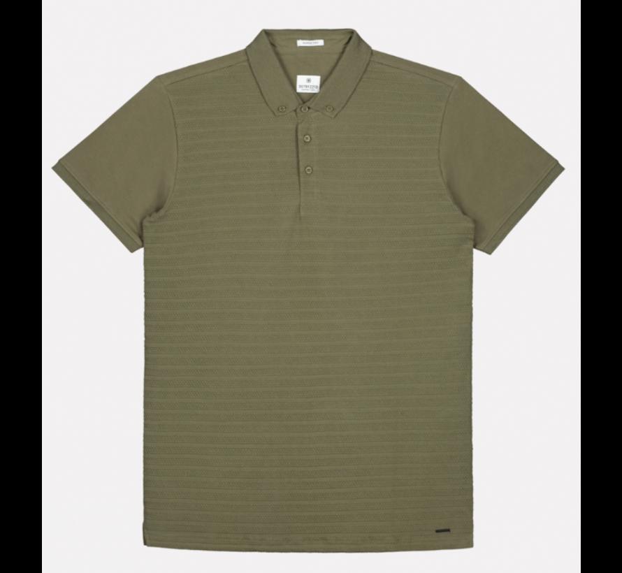 Polo Korte Mouw Army Groen (202530 - 511)