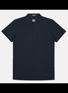 Dstrezzed Polo Korte Mouw Navy Blauw (202530 - 649)