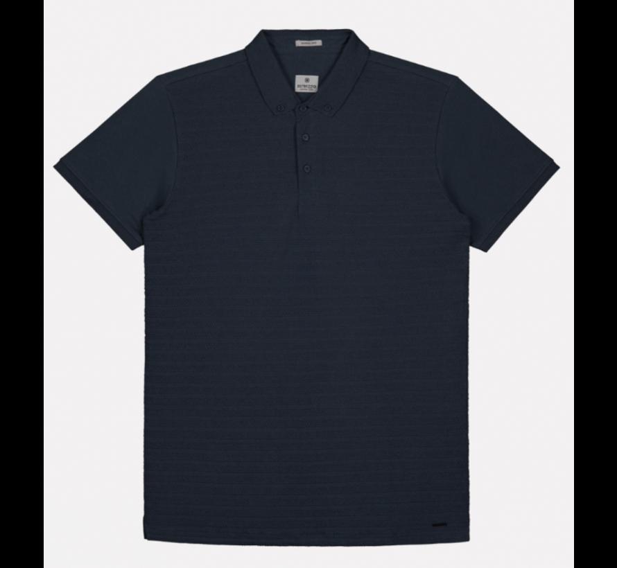 Polo Korte Mouw Navy Blauw (202530 - 649)