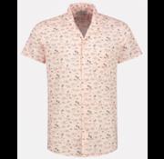 Dstrezzed Overhemd Korte Mouw Print Roze (311214 - 429)