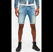 G-star Jeans Korte Broek 3301 Slim Fit Blauw (D10481-8968-B171)
