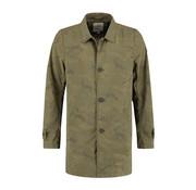 Dstrezzed Trenchcoat Camo Nylon Army Green (101227 - 511)