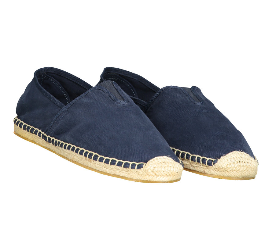 Espadrilles Washed Canvas Navy (651042 - 669)