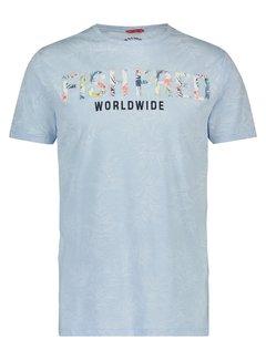 A Fish named Fred T-Shirt Licht Blauw (20.03.421)