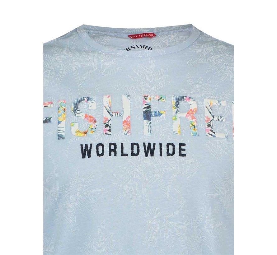 T-Shirt Licht Blauw (20.03.421)