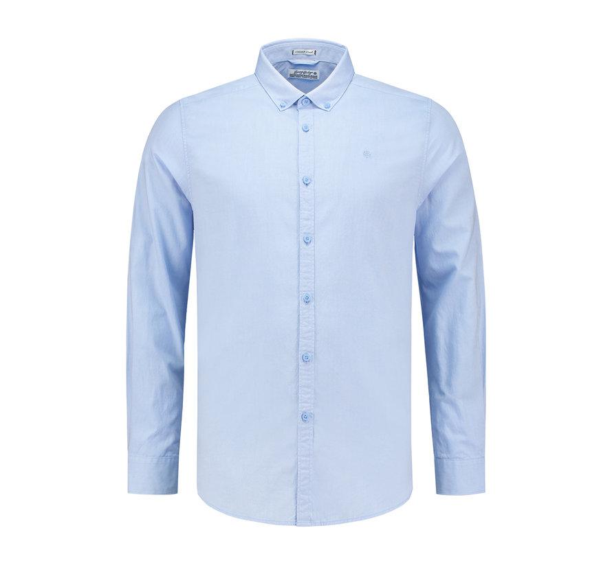Overhemd Button Down Licht Blauw (303124 - 646)
