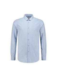 Dstrezzed Overhemd Dot Chambray Licht Blauw (303128 - 646)
